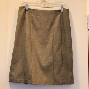 Rebecca Taylor Pencil Skirt with Stitching Detail